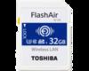 东芝FlashAir WIFI SDHC卡(W-04)(32GB)