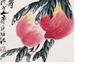 中国寿桃祝