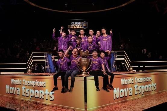 野猪骑士敲出世界冠军!皇室战争CRL全球总决赛NOVA夺冠回顾