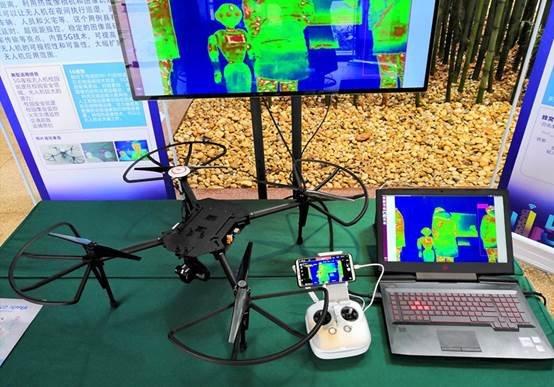 说明: 5G夜视智慧校园安防无人机2