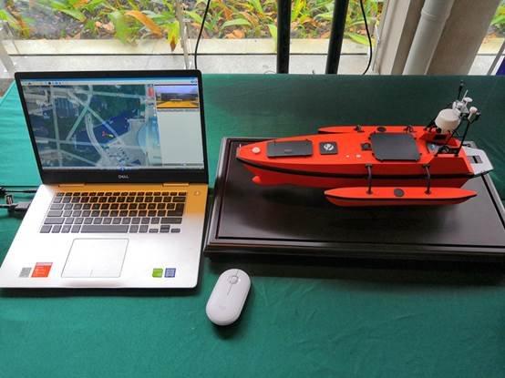 说明: 5G无人船环境监测1