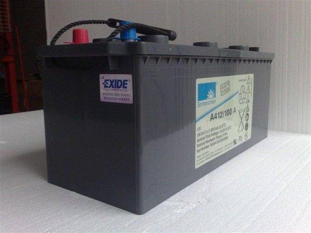 德国阳光A412/90A蓄电池