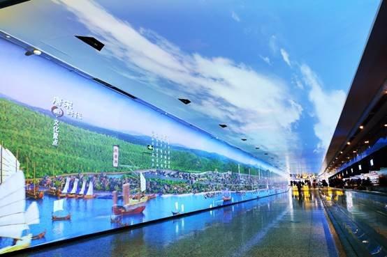 "NEC带你穿越广州白云机场""时空隧道"""