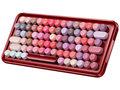 雷柏ralemo Pre 5彩妆版多模式无线机械键盘(1)