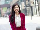 曾黎出街玩转妩媚色彩 同时还带着别样的帅气-中国女明星