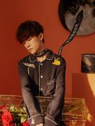 易烊千玺最新写真温柔治愈 与花朵玩偶相伴-中国男明星