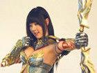 黄美姬代言37游戏《大天使之剑》拍摄花絮