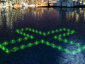 这款浮灯可以帮助市民查看水质