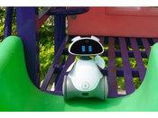 评首款可移动智能AI早教机器人