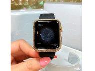 苹果iwatch手表钻石私人订制捷克豹顶级力作特价