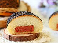 极客美食:香软可口―电烤箱版午餐肉面包