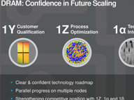 美光成业内第一家宣布量产1Znm工艺内存厂商