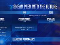 英特尔:10nm进展超预期 2020年底推冰湖服务器CPU