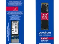 Goodram推PX500系列廉价M.2 NVMe固态硬盘
