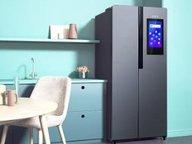 全屋互联 智享科技大屏 云米互动大屏冰箱云小鲜BCD-380WMLD评测