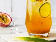 极客美食:香甜美味—百香果蜂蜜柠檬茶