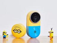 小白智能视频小黄人门铃套装可视化守护门庭安全 萌趣体验