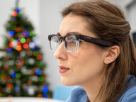 CES 2021 | microLED智能眼镜新品吸睛,轻便造型或为趋势
