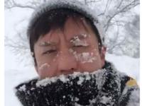 邓超脸埋雪地冻龄 被调侃:头回见脑子进雪的!