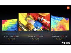 小米印度再发三款电视新品 售价14999卢比起
