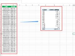 Excel数据怎么按月份进行求和?学会它,日常汇总更轻松