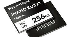 西部数据发布高端手机嵌入式闪存盘