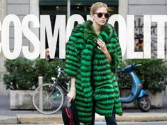 低调绿穿上身