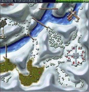 《热血江湖》新地图北海冰宫闪亮登场