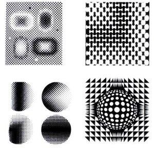 """设计理论剖析:平面构成中的""""点"""""""