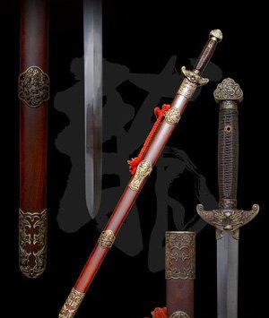 """龙泉剑又名""""七星剑"""",是仙剑奇侠传中,李逍遥在锁妖塔中偶然获得的宝物"""