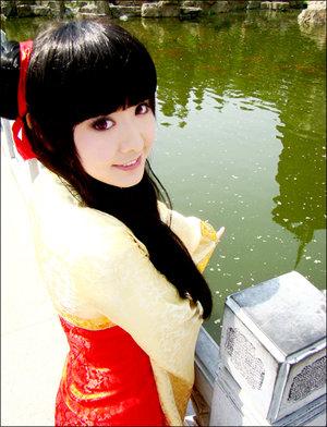 琉幻年代《魔卡少女樱》李莓铃cosplay 竖