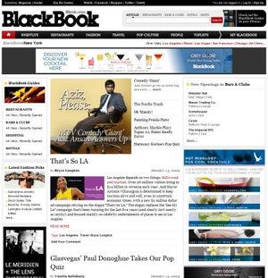 网页设计欣赏:出色的杂志风格网站
