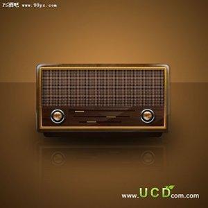 精致的古典收音机