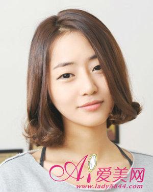 可爱蛋卷头 韩剧女主角必备发型