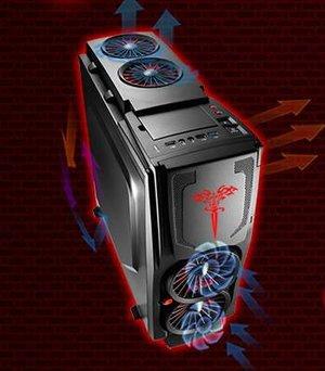 豪华水冷机箱 刀锋3豪华版震撼呈现