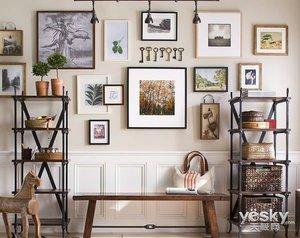 在最简约的空间打造最in的背景墙  谁都可以做的到!
