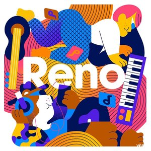 OPPO 新系列Reno硬核上线 亮眼插画彰显创造力