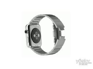 苹果watch(42mm不锈钢表壳搭配链式表带)