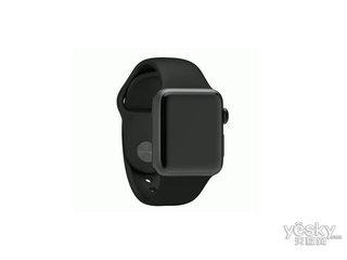 苹果watch Sport(42mm深空灰色铝金属表壳搭配黑色运动型表带)
