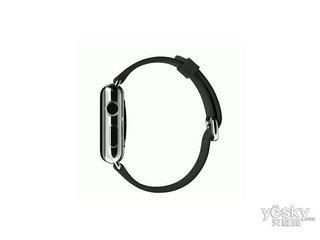 苹果watch(42mm不锈钢表壳搭配黑色经典扣式表带)