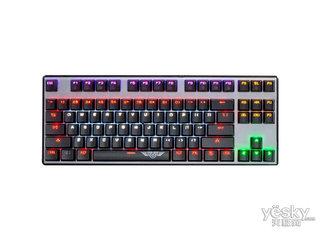新贵科技GM300悬浮式炫光机械键盘  87键