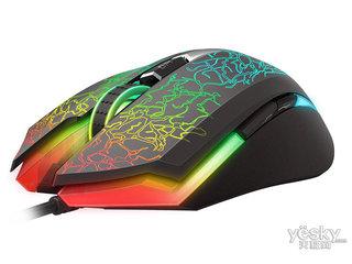 雷柏V21S幻彩RGB电竞游戏鼠标