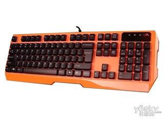 双飞燕K152悬浮防水炫光键盘