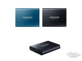 三星移动固态硬盘 SSD T5(1TB)