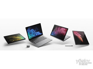 微软Surface Book 2(i7/16GB/512GB/13寸)