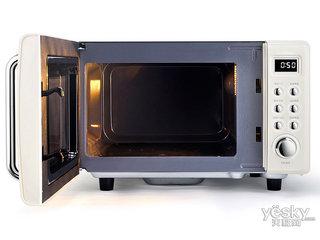 小米圈厨复古平板微波炉