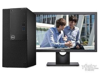 戴尔OptiPlex 3050MT(i3 7100/4GB/1TB/集显/23LCD)