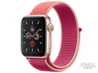 苹果Watch Series 5(GPS+蜂窝网络/铝金属表壳/回环式运动表带/40mm)