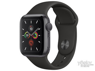 苹果Watch Series 5(GPS+蜂窝网络/铝金属表壳/运动表带/44mm)