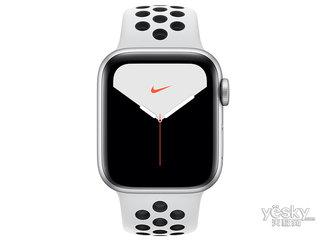 �O果Watch Nike Series 5(GPS+蜂�C�W�j/�X金�俦��/Nike�\�颖��/44mm)
